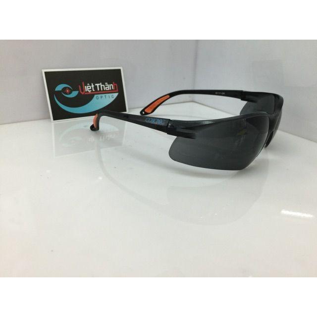 Kính bảo vệ mắt chống uv cao cấp dẻo polycacbonate bảo hộ dẻo chống bụi tốt