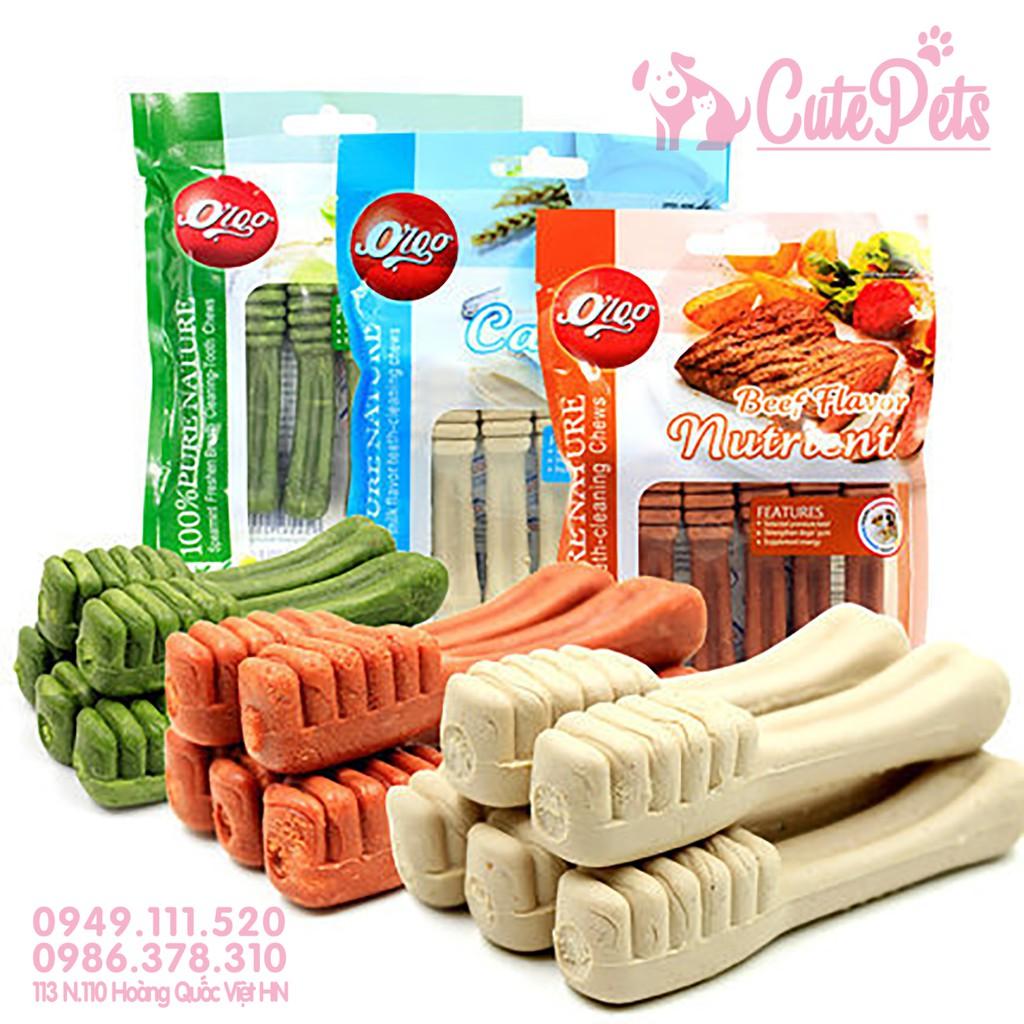 ? Xương gặm sạch răng chó Orgo giúp sạch răng, Bổ xung năng lượng, canxi - CutePets Phụ kiện chó mèo