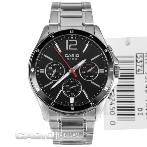 Đồng hồ nam Casio chính hãng MTP-1374D-1AVDF