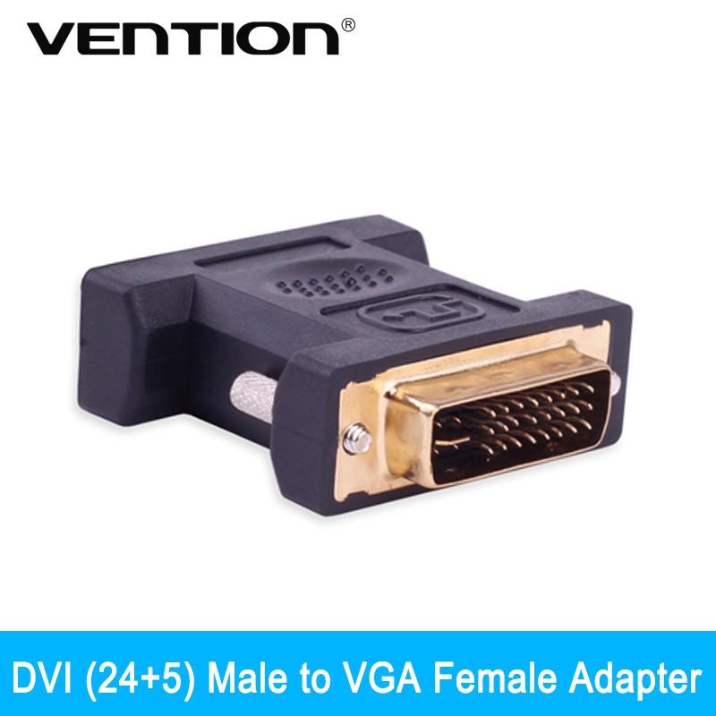 Vention DVI (24+5) Male to VGA Female Adapter DVI to VGA Converter Adaptor