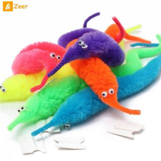 Random Magic Twisty Fuzzy Worm Wiggle Moving Sea Horse Kids close-up street comedy Magic Tricks Toys wholesale 『Zeer 』