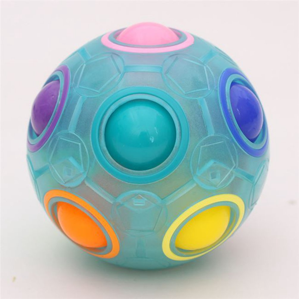 Rainbow Magic Ball Decompression Toys Press Magic Ball Funny Educational Toys