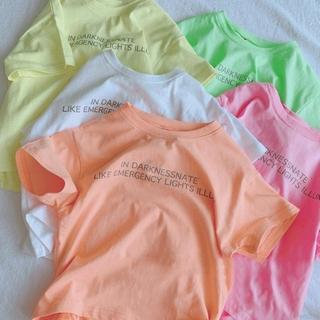 Áo thun tay ngắn in chữ thời trang Trẻ em Cô gái Bé trai Áo phông Mùa hè Bông Thường ngắn tay Áo sơ mi dành cho trẻ em In trên cùn