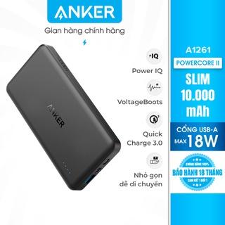 Pin sạc dự phòng ANKER PowerCore II Slim 10000mAh - A1261 thumbnail