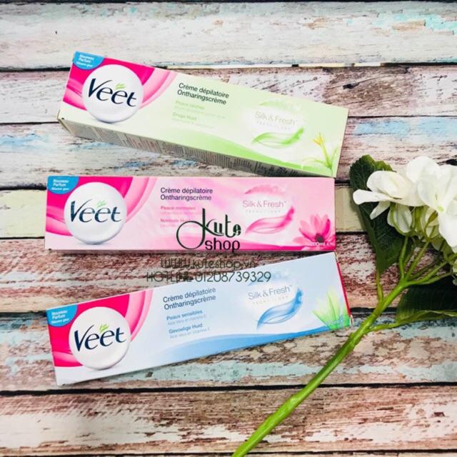 Kem tẩy lông Veet Crème dépilatoire Silk & Fresh 200ml - 2880093 , 82259924 , 322_82259924 , 170000 , Kem-tay-long-Veet-Creme-depilatoire-Silk-Fresh-200ml-322_82259924 , shopee.vn , Kem tẩy lông Veet Crème dépilatoire Silk & Fresh 200ml