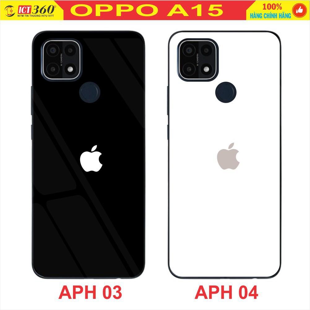 Ốp Lưng Kính OPPO A15/ OPPO A15S- Hình 3D - in theo yêu cầu