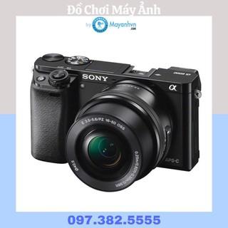 Máy ảnh Sony A6000 + Ống kính 16-50mm F/3.5-5.6 OSS (4 màu - Hàng chính hãng-tặng túi Sony, thẻ nhớ 16GB)