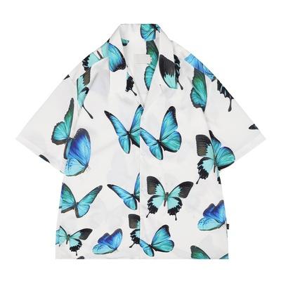 [Mã WASEPRN hoàn 20% xu đơn 99k] Áo sơ mi 3D dưới 75kg - Bươm bướm