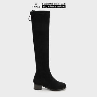 Giày Bốt Nữ Boot Đùi Da Lộn 5Phân HAPAS - BOT550