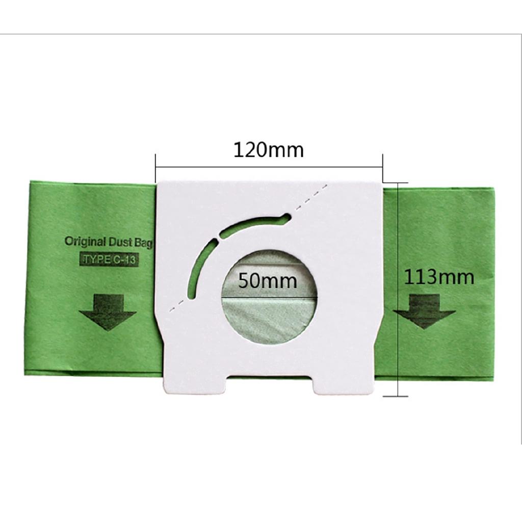 Bộ 5 túi giấy đựng bụi cho máy hút bụi Panasonic C-13