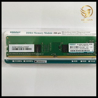 RAM DDR4 Chính Hãng 4G & 8G Bus 2400 2666 Ram Máy Tính PC KING MAX Chính Hãng Viễn Sơn - OHNO VIỆT NAM thumbnail