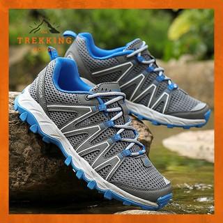 Giày leo núi lội suối thoáng khí thoát nước Outdoor, giày phượt dã ngoại chạy bộ