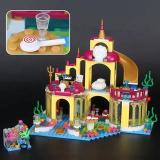(HÀNG CÓ SẴN) Lego 42083 Friends Cung Điện Nàng Tiên Cá Lepin 25016 Ariel Princess