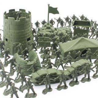 Set 100 Mô Hình Đồ Chơi Người Lính Quân Đội Cho Bé thumbnail