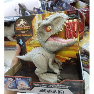 Mô hình khủng long Indominus rex phiên bản feeding frenzy hãng Mattel Mĩ