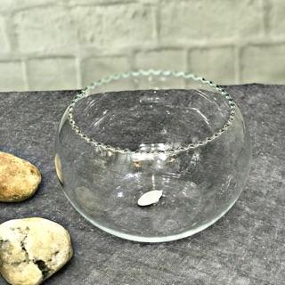 Bát thủy tinh thả cá – cầu thủy tinh cắm hoa, thả cá