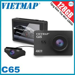 [Tặng Kèm Thẻ Nhớ 128Gb] CAMERA HÀNH TRÌNH VIETMAP C65 + THẺ NHỚ 128GB