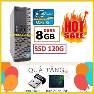 Yêu ThíchMáy tính đồng bộ Dell Optiplex Core i5 3470 / 8G / SSD120gb - Bảo Hành 24 Tháng 1 đổi 1