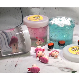 Combo 3 slime 100kThế Giới Sushi /Sunny Fun Tv/ slime trong/PVA