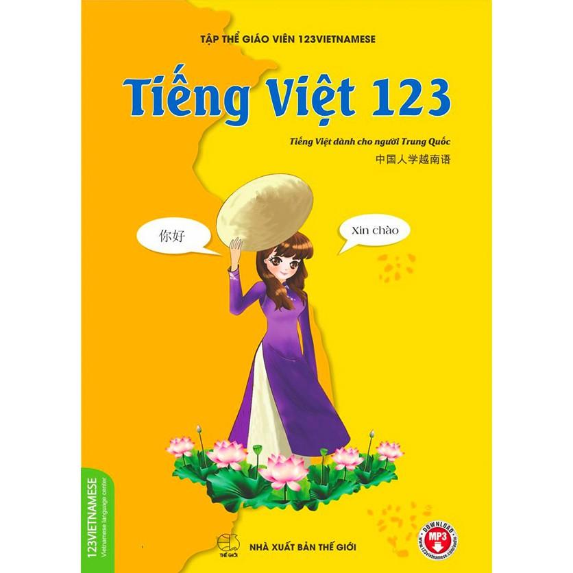 Sách - Tiếng Việt dành cho người Trung Quốc - 123Vietnamese