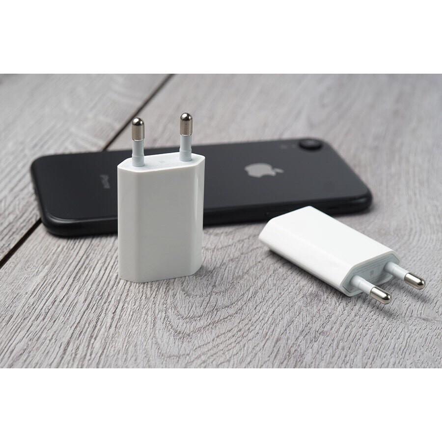 Củ Sạc IPhone Dẹt Zin ⚡️ Chính Hãng APPLE ⚡️ BH 1 Năm - 1 Đổi 1