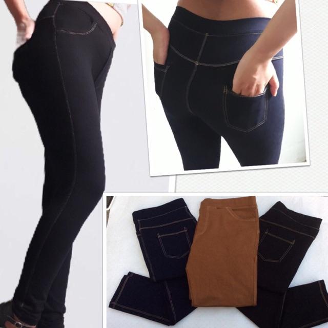 Legging giả jean form chuẩn