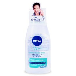 Nước tẩy trang Nivea White Oil Control Make Up Clear Micellar Water 125ml