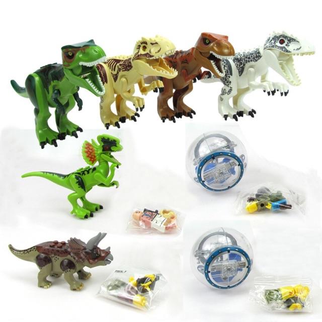 ✨ Lắp ráp thông minh ✨ Khủng Long T-Rex ✨ 4 kiểu ✨
