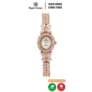 [Mã FARSBRT52 giảm 20% đơn từ 249K] Đồng hồ nữ Chính Hãng Royal Crown 9246 2527J-RG vỏ vàng hồng thumbnail