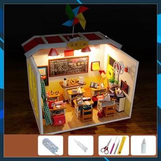 Mô hình nhà búp bê gỗ DIY Nhà búp bê Seasons in the sun Toy World