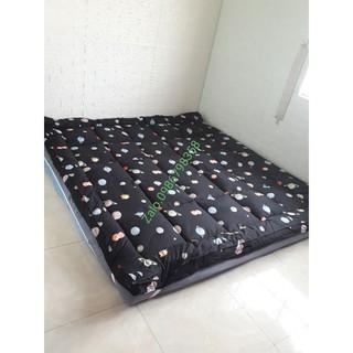 Nệm TOPPER mẫu HT/Nệm trải sàn ngủ gấp gọn (size 1m6 & 1m8)