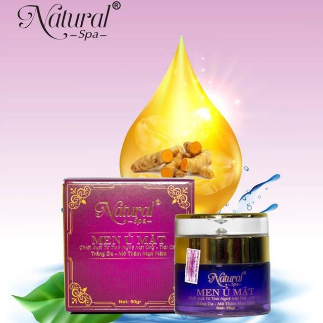 kem dưỡng trắng da mặt 💥 HÀNG CHÍNH HÃNG 💥 Men ủ mặt Natural Spa 50ml giúp làn da bạn trở nên căng mịn, trắng sáng