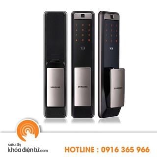 Khóa điện tử Samsung SHP DP609 có bộ kết nối wifi