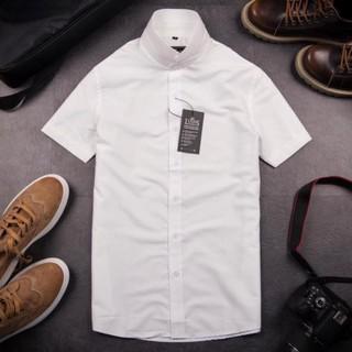 Áo sơ mi ngắn tay nam cao cấp công sở Vesca form rộng thoải mái thời trang phong cách hàn Quốc ACT1