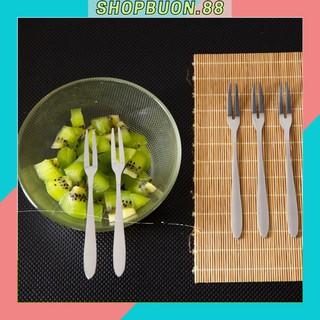 1 chiếc dĩa ăn hoa quả, bánh ngọt siêu tiện ích SHOP 88 88058 thumbnail