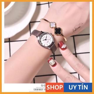 [Hàng Cao Cấp] - Đồng hồ nữ Doukou chính hãng dây da cao cấp mặt vân 3d nhỏ xinh thumbnail