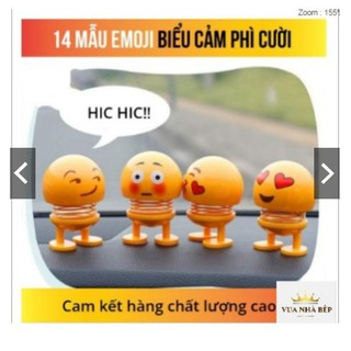 Thú Nhún Emojji Con Lắc Lò Xo – Siêu Chất – Siêu Vui Emoji cực hót J【 3C 】