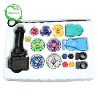 Metal Fusion Beyblade 4D Launcher Grip Set