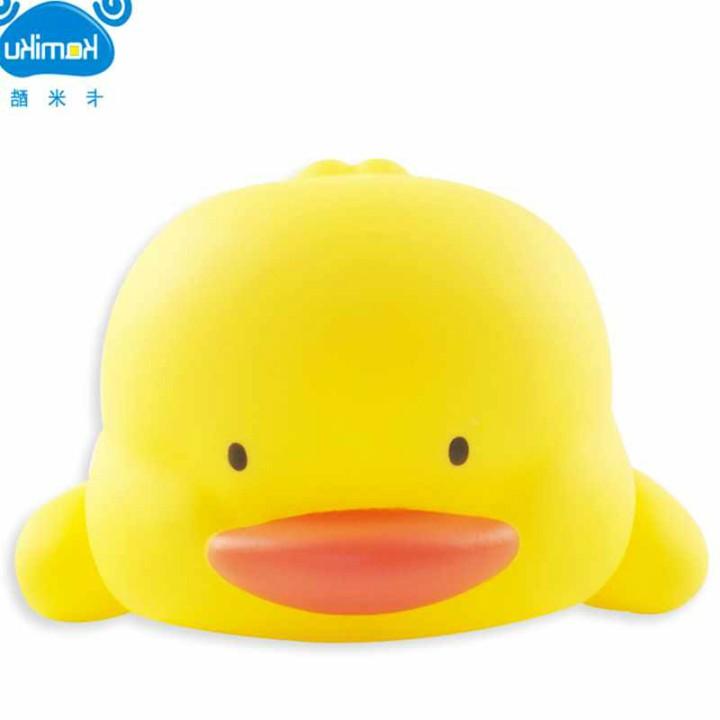 Bộ 3 chú vịt sử dụng trong bồn tắm cho bé- Vịt bồn tắm- Vịt bóp tay Jika Store