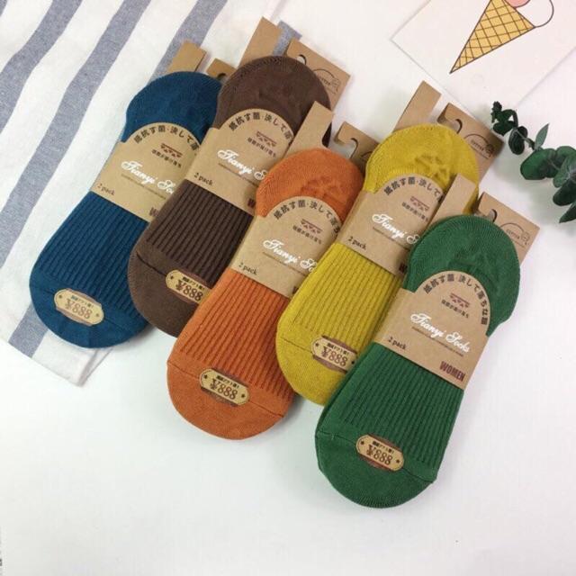 🧦👧🏻LOẠI 1🌀Tất hài len tăm nữ mã 888-màu siêu đẹp, siêu HOT chuẩn tag mác như ảnh-Lố 10 đôi đủ màu (ảnh thật + v