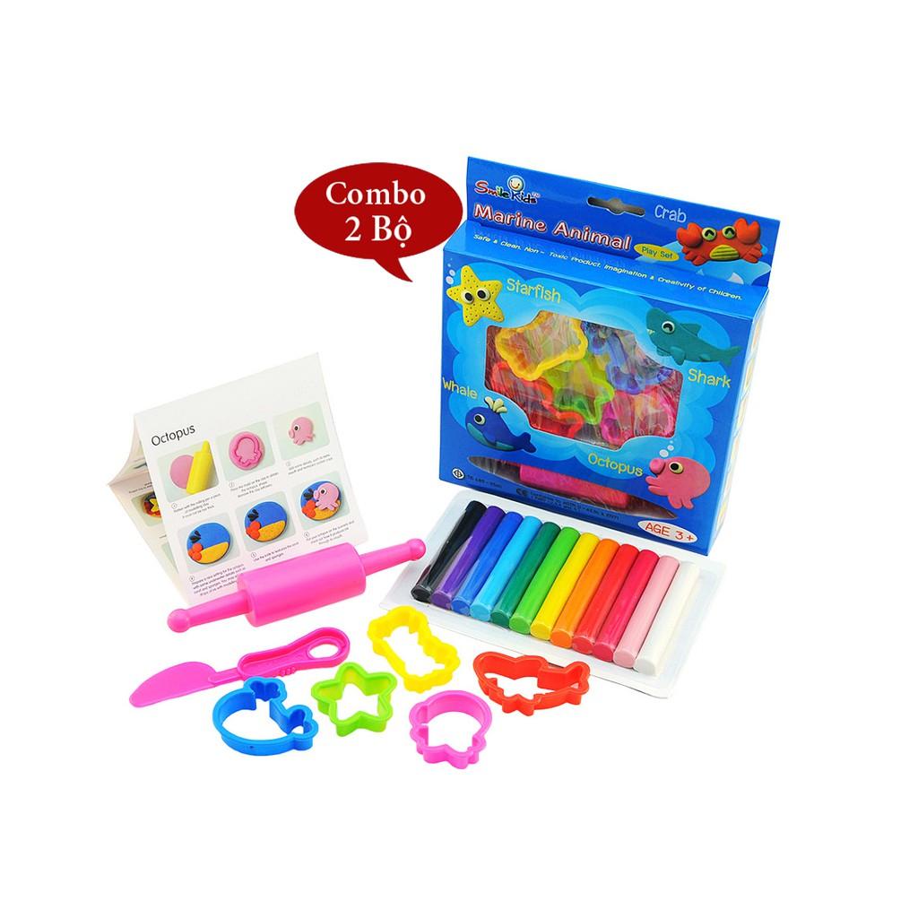 Đồ chơi trẻ em Bộ đất sét nặn hình kèm khuôn Smile Kids SK-B200MA Xuất xứ Thái Lan - 2397437 , 1290845909 , 322_1290845909 , 75000 , Do-choi-tre-em-Bo-dat-set-nan-hinh-kem-khuon-Smile-Kids-SK-B200MA-Xuat-xu-Thai-Lan-322_1290845909 , shopee.vn , Đồ chơi trẻ em Bộ đất sét nặn hình kèm khuôn Smile Kids SK-B200MA Xuất xứ Thái Lan