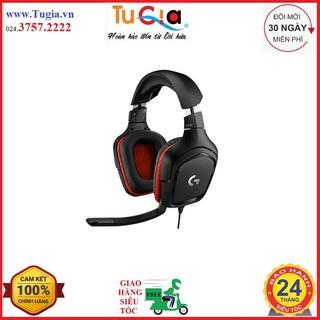 Tai nghe Over-ear Logitech G331 Wired Gaming (Đen) - Hàng chính hãng