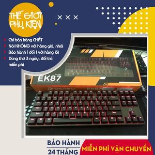 [Hàng Chính Hãng] Bàn phím cơ Dareu EK87, Bàn phím gaming Dareu EK87 – Bảo Hành 24 tháng