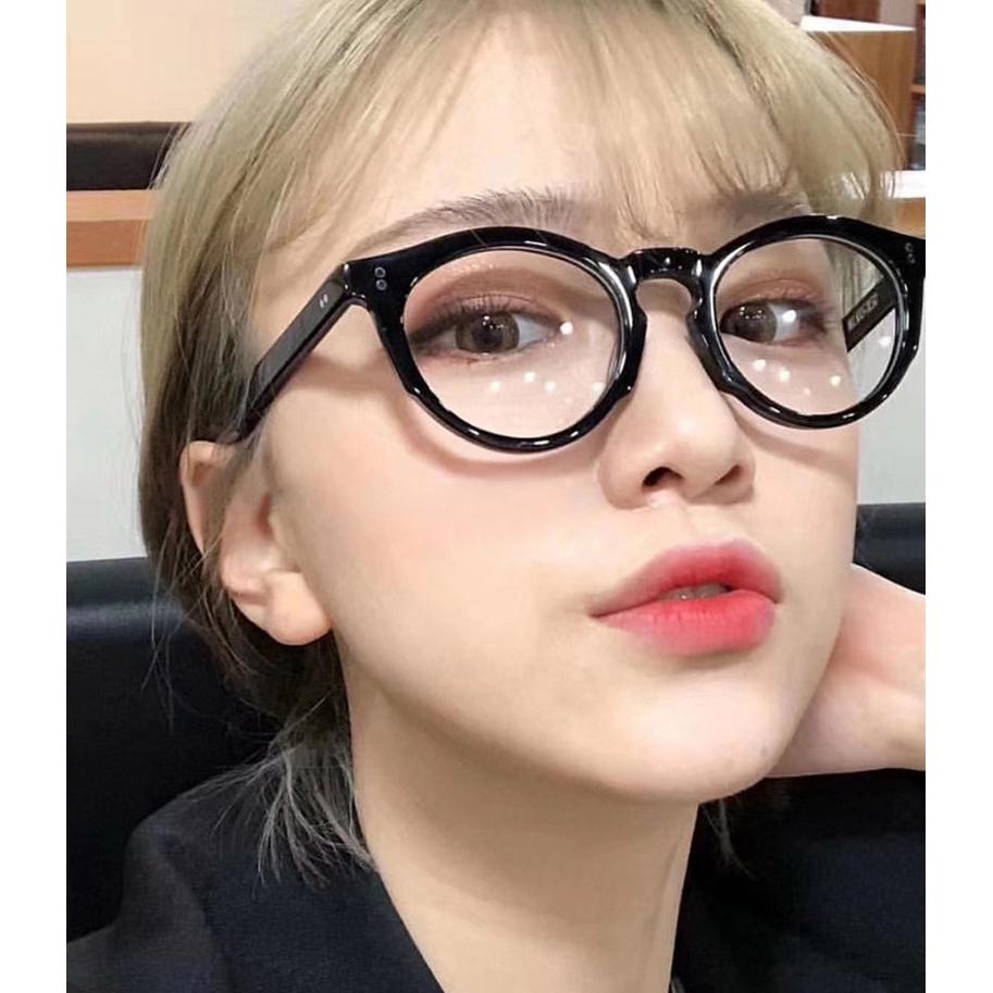 Mắt Kính Gọng Tròn Phong Cách Hàn Quốc Dành Cho Nữ
