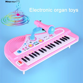 37 Keys Electronic Piano Microphone PlayingInstrument Toy