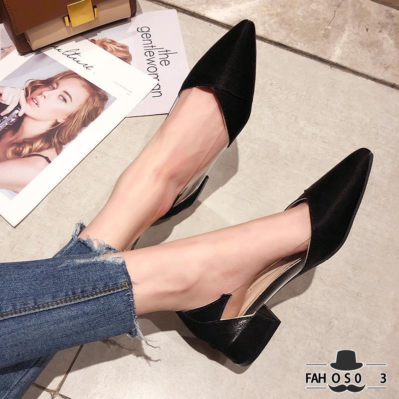 Giày gót dày mũi nhọn màu trơn phong cách Hàn Quốc thanh lịch cho nữ - 13882548 , 2137526212 , 322_2137526212 , 331200 , Giay-got-day-mui-nhon-mau-tron-phong-cach-Han-Quoc-thanh-lich-cho-nu-322_2137526212 , shopee.vn , Giày gót dày mũi nhọn màu trơn phong cách Hàn Quốc thanh lịch cho nữ