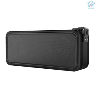 【E&V】X7 Outdoor IPX7 Waterproof Speaker Wireless Bluetooth Speakers TWS Stereo Sound Box 20W Subwoofer Support U Disk AUX IN with Mic Rechargeable Ba