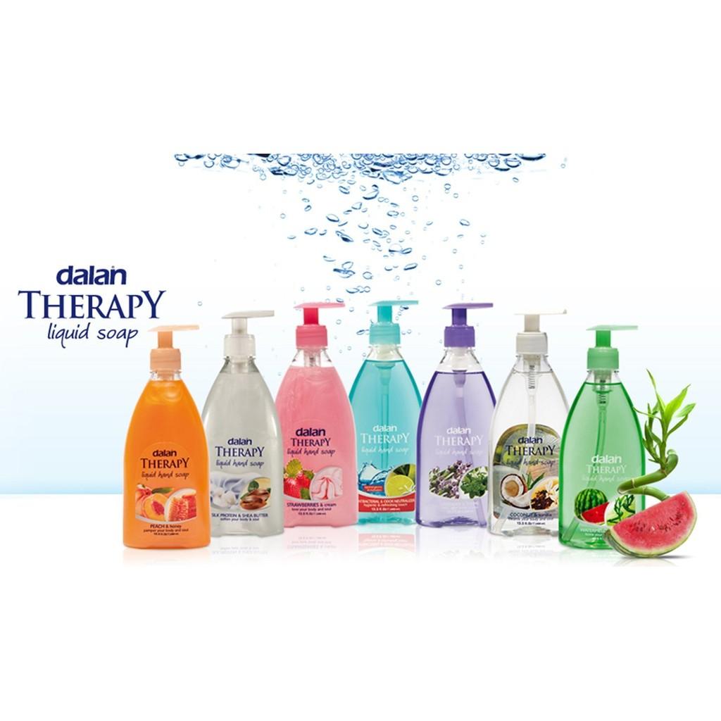 Xà phòng rửa tay hương trái cây Dalan Therapy Liquid Hand Soap 400ml