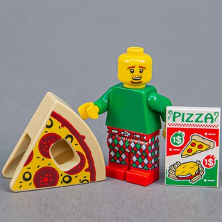 [Chính Hãng, Sealed] Nhân Vật LEGO Minifigures Người Bánh Pizza 71025 Series 19