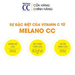 Hình ảnh Tinh chất dưỡng trắng da chống thâm nám Melano CC Whitening Essence 20ml-3